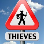 thieves alert and protection of identity theft by neighborhood o